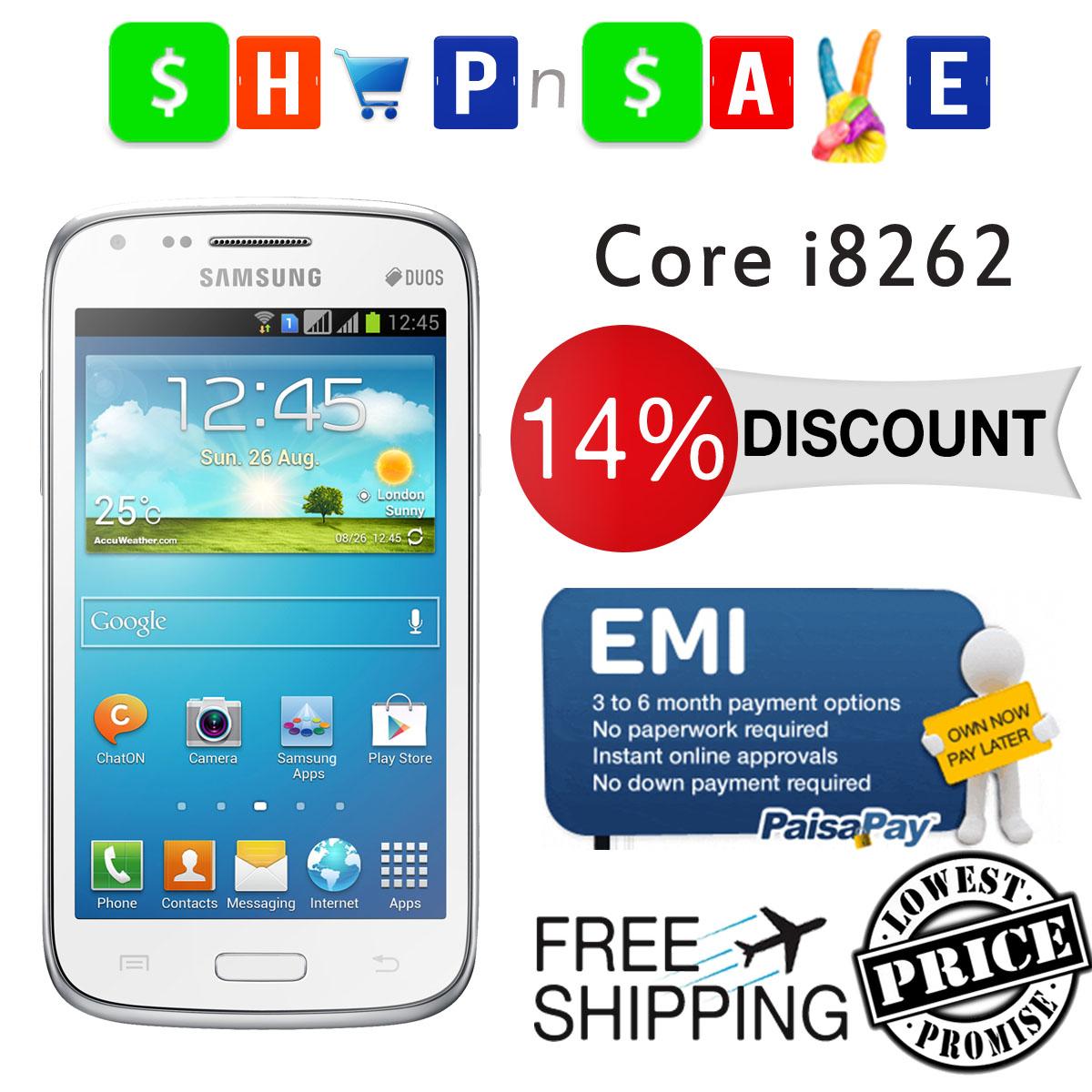 Samsung Galaxy Core i8262 White