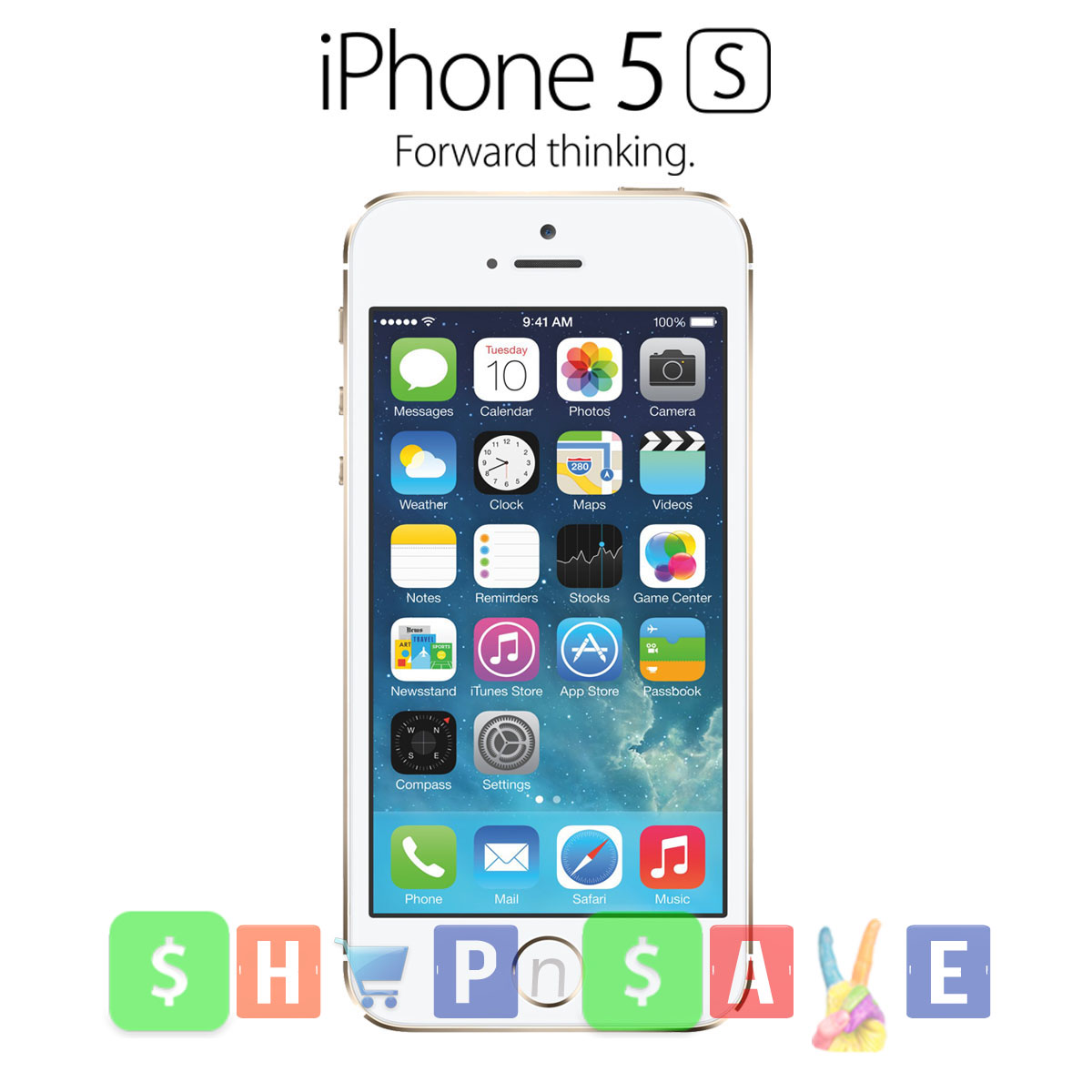 Apple iPhone 5S - Champagne Gold